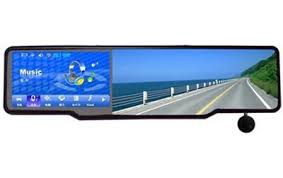 4.3'' Car Rearview Mirror GPS with wireless Camera and Laser/Radar  Detector, DVR, Bluetooth