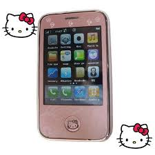 Hello Kitty Mini iPhone (I9, éríntőképernyő, Dual SIM, Bluetooth)