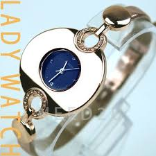 Lady Crystal Gold Watch