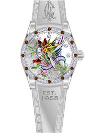 Christian Audigier Graceful Bird Ladies Watch - Int-302