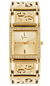 Guess Gold Swarovski Crystals Ladies Watch - U95067L1